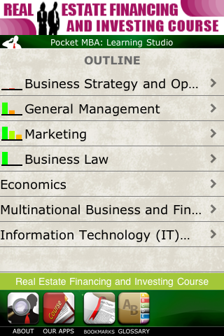 The Best iOS App for MBA Students