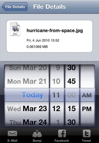 Bucket Link iPhone Screenshot 2