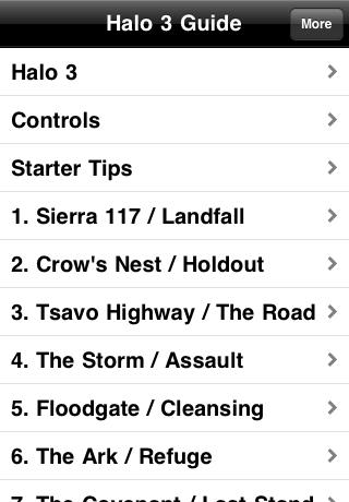 Halo 3 Guide (Walkthrough) free app screenshot 1