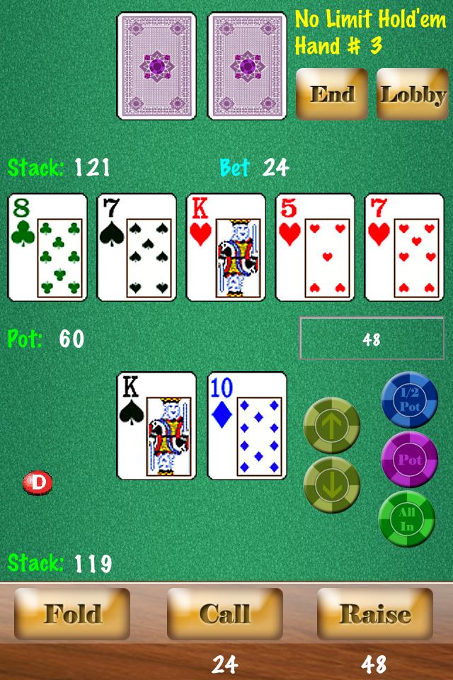 Headsup Poker (Hold'em, Blackjack, Omaha)