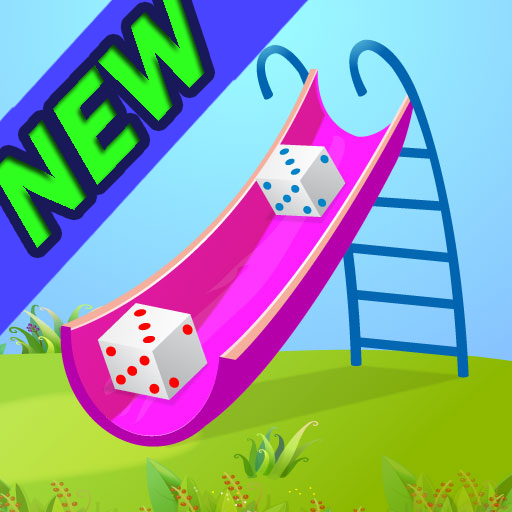 A Chutes and Ladders Kids multiplayer board game