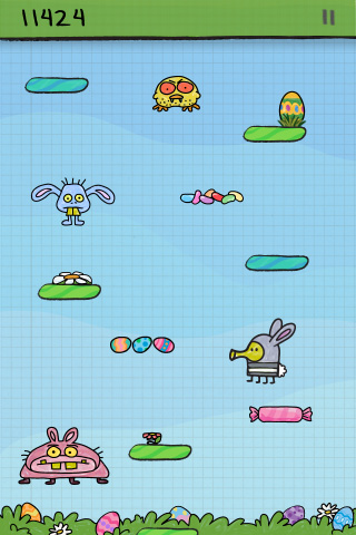 Doodle Jump – BE WARNED: Insanely Addictive! Screenshot