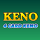 Keno 4 Multi Card - Las Vegas Casino
