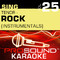 Sing Tenor - Rock, Vol. 25 (Karaoke Performance Tracks) [Karaoke Version]