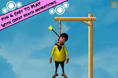 Hanged Till Death ( An Archery Archer Fun Doodle Physics Cartoon Shooting Game / Games ) Screenshot