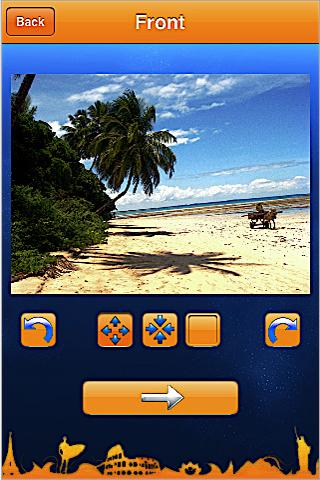 HazelMail Postcards free app screenshot 1