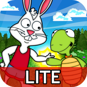 Rabbit and Turtle's Amazing Race Lite  See, Touch & Learn icon