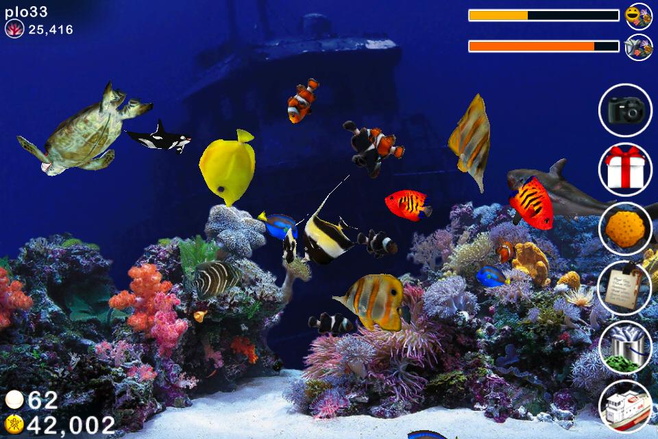 App shopper tap reef fish farm games for Fish farm games