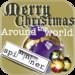 Merry Christmas Around The World Spinnner