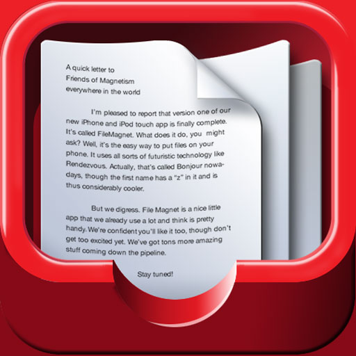 FileMagnet - Read and e-mail your documents on the go