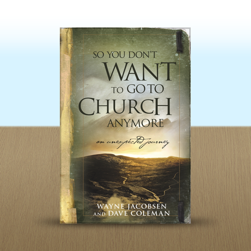 So You Don't Want to Go to Church Anymore by Jake Colsen, Wayne Jacobsen, and Dave Coleman