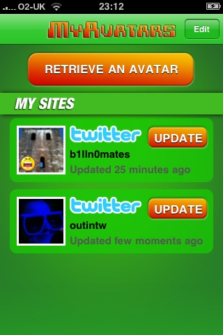 MyAvatars Free free app screenshot 1