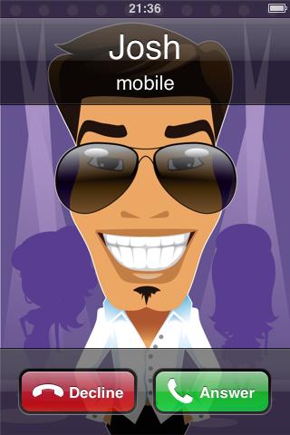 Phonebook Avatars Lite free app screenshot 1