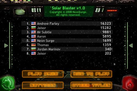Solar Blaster