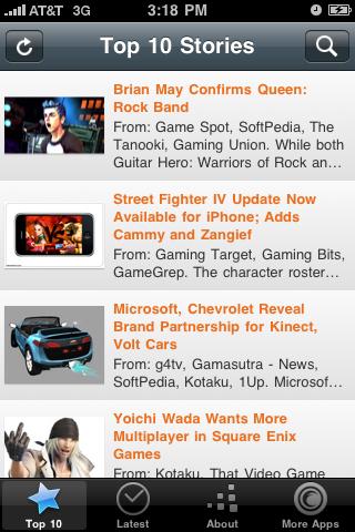 gameDygest free app screenshot 1