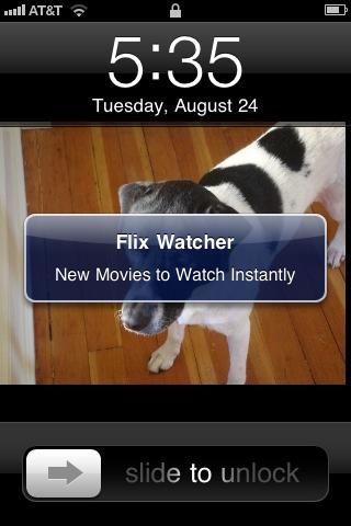 Flicks Watcher - Netflix Instant View Listing free app screenshot 1
