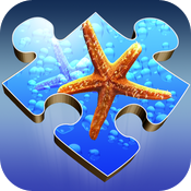 Aqua Jigsaw icon