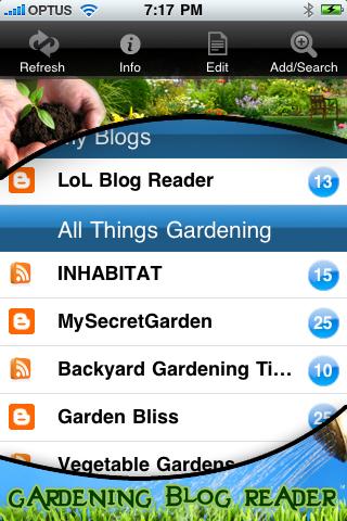 Gardening News and Updates free app screenshot 1