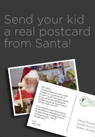 Postcards From Santa (FREE) free app screenshot 1