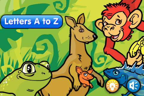 image of alphabet animals talking abc cards for kids british english for iphone - Animals Pictures For Kids Free Download