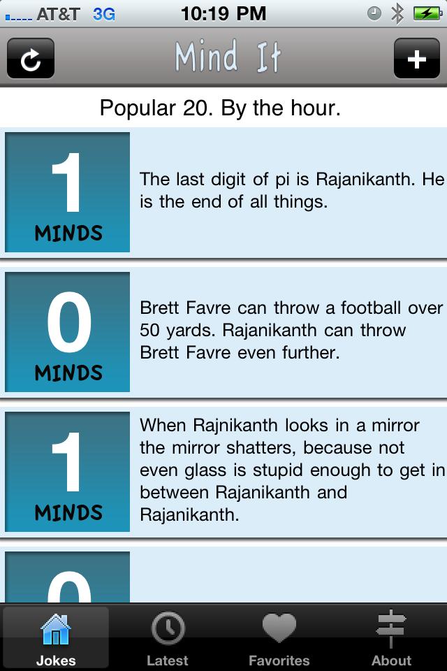 iPad Image of Mind It - Rajinikanth Balakrishna Jr. NTR Jokes