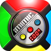 iMimic Says: 80's Vintage Electronic Classic Memory Game HD Retina icon