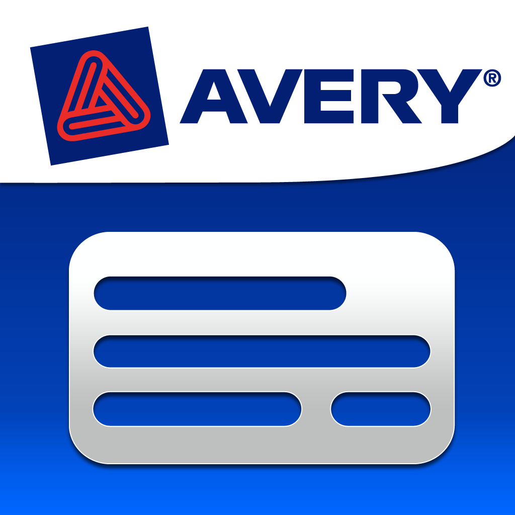 avery template for business cards