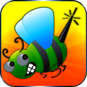 Attack Bugs and Save Man game- Easy free version icon