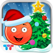 Friendly Christmas - Funny shape holiday adventure icon