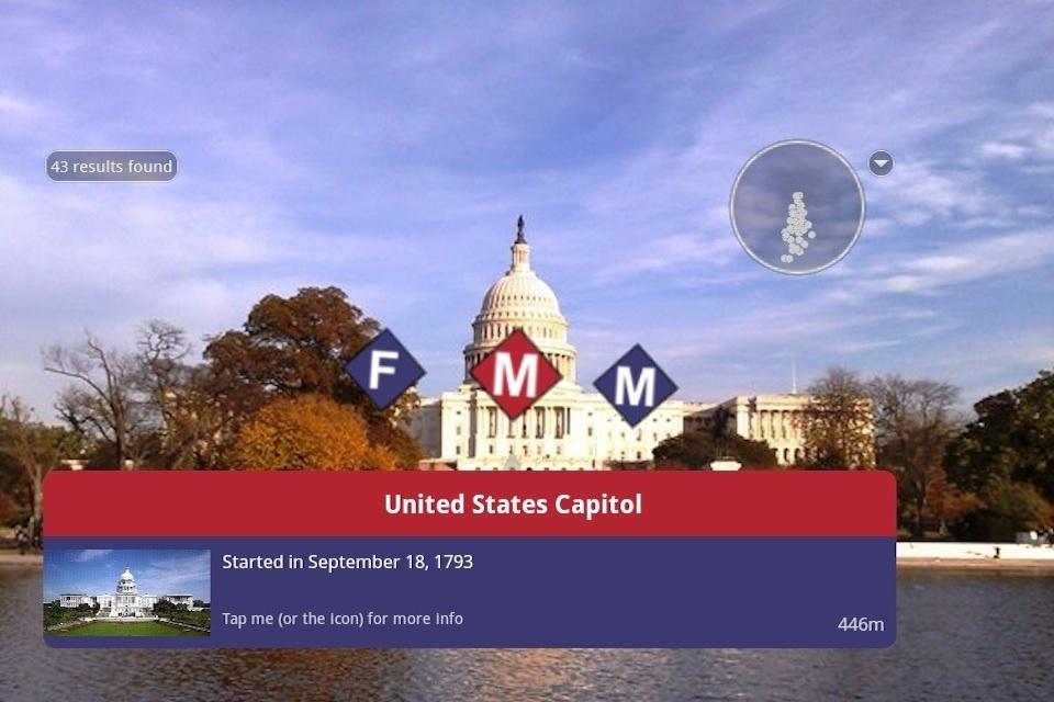 Screenshots for Washington Mall AR