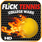 Flick Tennis: College Wars HD icon