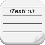 iTextEdit - Simple text editor for iOS icon