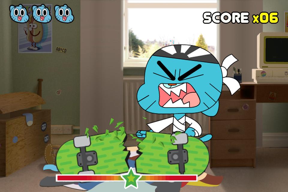 The Amazing World of Gumball: Mini Games screenshot 2