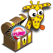 Giraffe's Matching Zoo Deluxe - Featuring the FUN BUTTON!