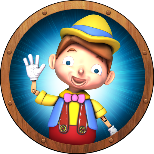 Pinocho Libro Juego De Memoria Rompecabezas