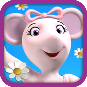 Angelina Ballerina's Bubble Pop Game icon