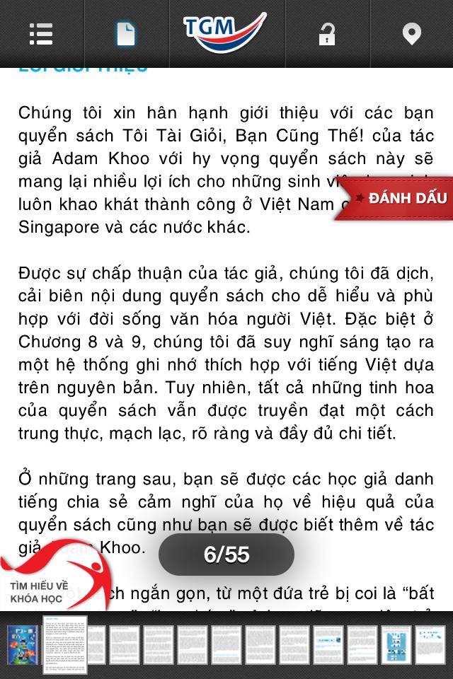Image of Tôi Tài Giỏi, Bạn Cũng Thế! for iPhone