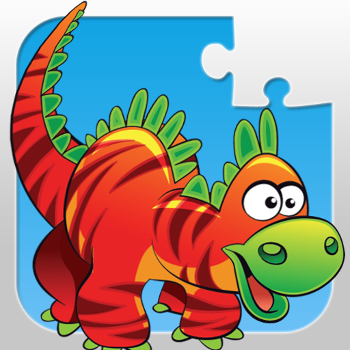 Dinosaurs - Jigsaw Puzzle Game for Kids