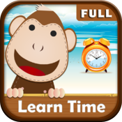 Tell Time - Interactive elementary app to learn telling time icon