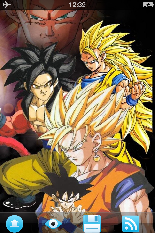 dragon ball z wallpaper iphone 5