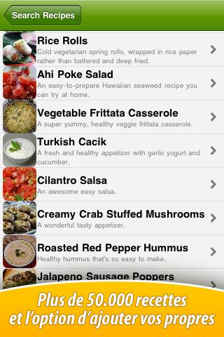 Copie d'écran 3 de l'application