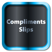 Compliments Slips for Adobe Photoshop® icon