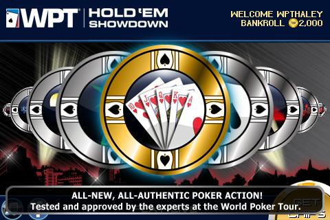 World Poker Tour Hold 'Em Showdown screenshot 1