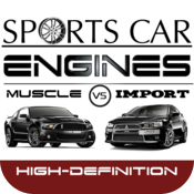 Sports Car Engines 2: Muscle vs Import HD icon