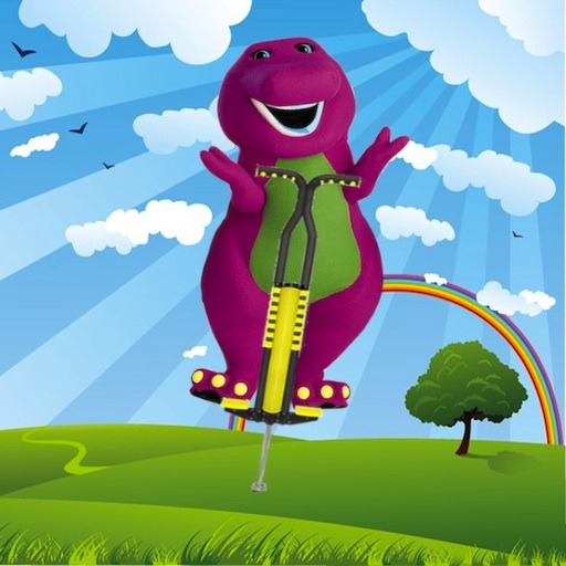 Purple Dinosaur Jump