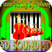 Piano String Symphony (3D Sound HD) icon