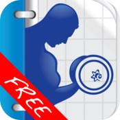 Fitness Buddy FREE : 300+ Exercise Workout Journal icon