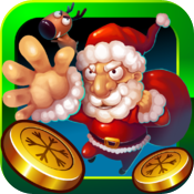 Coin Christmas GOLD icon