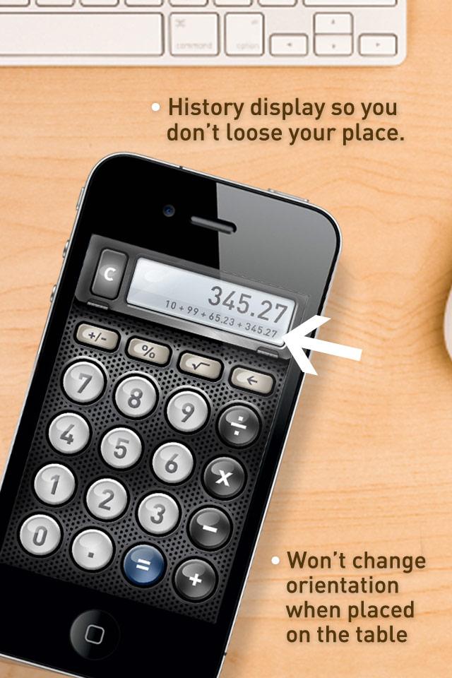 история калькулятора в айфоне это