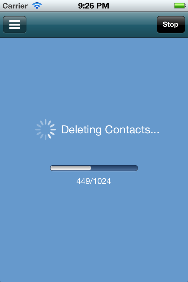 how to delete all emails on iphone 6 at once